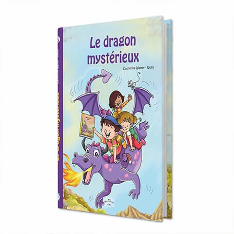 Le dragon mystérieux histoire personnalisée pour les enfants