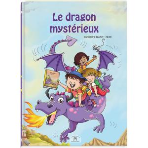 Livre personnalisable dragon mystérieux pour enfants de 3 à 8 ans