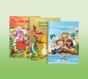 Livre personnalisé enfant fait sur mesure dont l'enfant est le héros