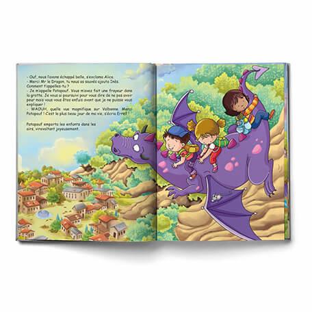 Livre enfant sur les dragons