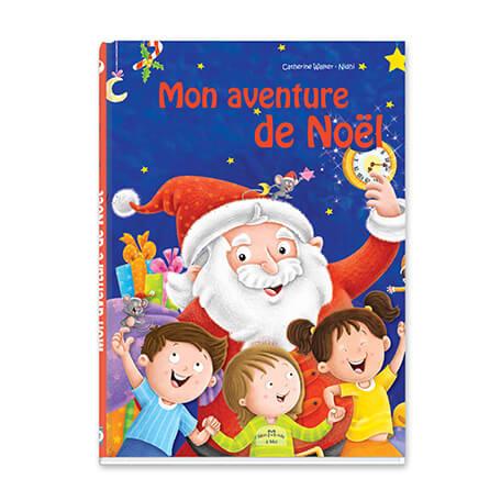 Livre personnalisé de Noël couverture rigide