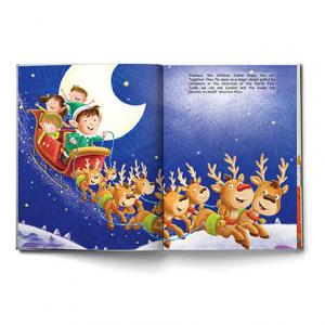 Livre personnalisé de Noël pour les enfants