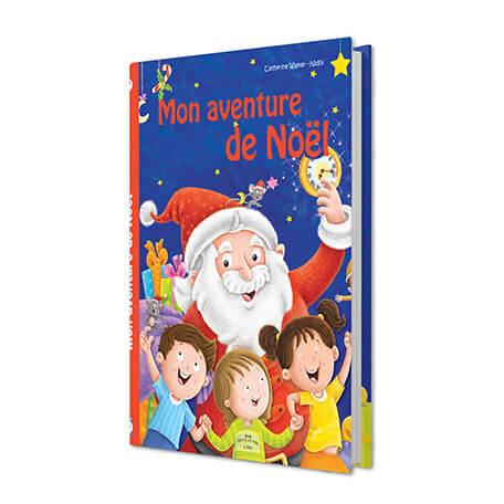 Mon aventure de Noël livre personnalisé pour les enfants