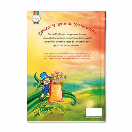 Livre personnalisé pour les petits filles la reine des fées